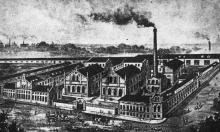 Русский Черноморский канатный завод в Одессе. Фотография в каталоге завода 1902 г.