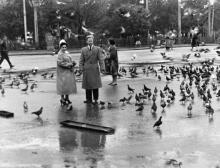 Одесса. На Привокзальной площади. 1961 г.