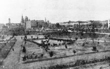 Одесса. Парк им. 9 января. Фотография в журнале «Шквал». 1925 г.