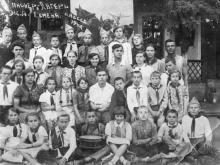Пионерский лагерь железнодорожников. Одесса. 1940 г.