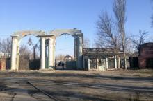 Одесса. Остатки завода «Большевик». Фото Е. Волокина. 22 февраля 2020 г.