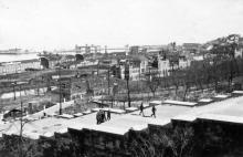 Одесса. Бульварная лестница. 1942 г.