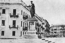 Одесса. Памятник Дюку де-Ришелье. Открытое письмо