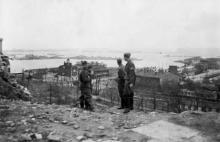 Одесса. Вид на порт. 1942 г.