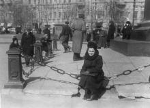 Ограда памятника Воронцову. Одесса, 1950-е гг.