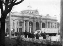 Одесса. Вокзал. 1960-е гг.