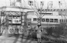 Вид на Пассаж и гастроном № 1 с площади Советской Армии. Одесса. 1960-е гг.