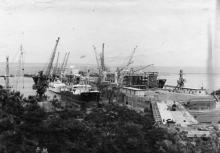 Строительство нового морского вокзала в Одессе