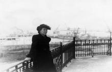 Одесса. Вид от Дворца пионеров на порт. 1950-е гг.
