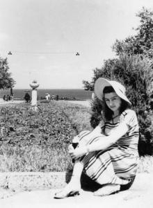 Одесса. В парке им. Т.Г. Шевченко, будущая Аллея Славы. 1950-е гг.