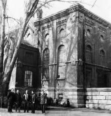 Одесса. Здание водонасосной станции на Водопроводной ул. 1980-е гг.