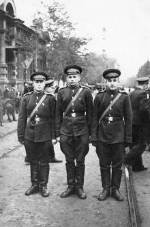 Одесса. Слева дом № 93 по ул. Свердлова. 1950-е гг.
