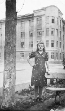 Одесса. В сквере на площади Льва Толстого. 1948 г.