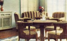 Гостиница «Одесса», номер «Люкс». Фото в буклете «Hotel «Odessa». 1960-е гг.