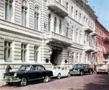 Гостиница «Одесса». Фото в буклете «Hotel «Odessa». 1960-е гг.