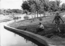 В дендропарке им. В.И. Ленина. Одесса. 1970-е гг.