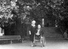 Одесса. В санатории им. Чкалова. 1981 г.