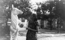 Одесский зоопарк. 1954 г.