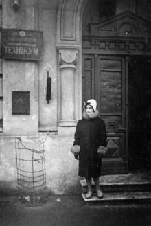 Одесса. Проспект Мира, № 6. Техникум связи. 1962 г.