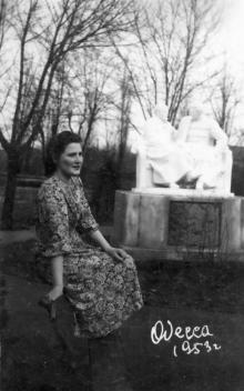 В санатории ВЦСПС № 13. Одесса. 1953 г.