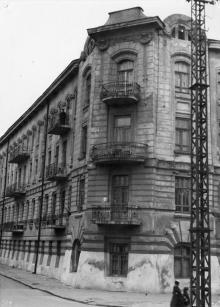 Одесса. Дом № 9 по Лермонтовскому пеерулку. 1960-е гг.