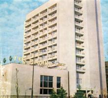 Одесса. Здание гостиницы «Турист». Фотография в буклете 1970-х гг.