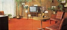 Одесса. Интерьер гостиницы «Турист». Фотография в буклете 1970-х гг.