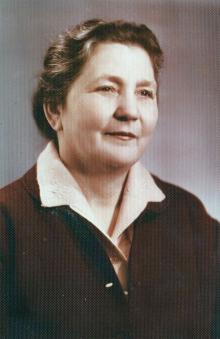 Полина Михайловна Сенчиневич-Шведова. 1969 г.