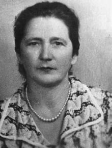 Полина Михайловна Сенчиневич. 1955 г.