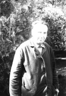 Иван Петрович Сенчиневич в больнице. 1967 г.