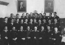 И.Ф. Демьянов 4-й вверху справа. 22 ноября 1951 г.