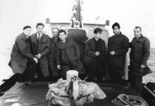 И.Ф. Демьянов с с экипажем. 1969 г.