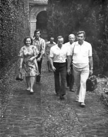 И.Ф. Демьянов в Италии. 1972 г.
