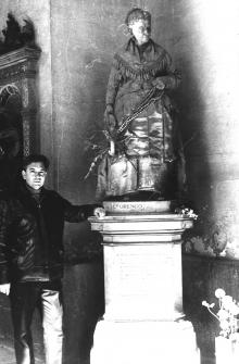 И.Ф. Демьянов Генуе, в Campo Santo. 1972 г.