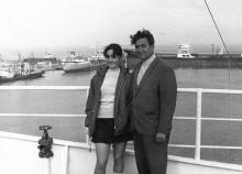 И.Ф. Демьянов с дочерью Людмилой. 1972 г.