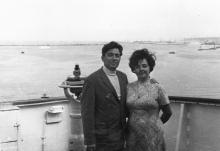 И.Ф. Демьянов с женой Галиной. 1974 г.