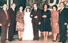 И.Ф. Демьянов с женой на свадьбе у друзей. 1978 г.