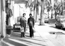 И.Ф. Демьянов во время увольнения. 1980 г.