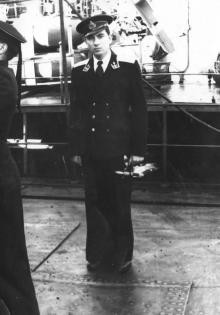 И.Ф. Демьянов. 19 ноября 1954 г.
