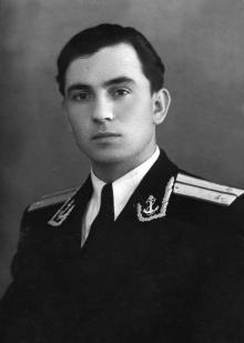 Офицер Иван Федорович Демьянов. 19 декабря 1954 г.