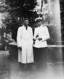 И.Ф. Демьянов справа. 1955 г.