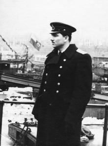 Офицер И.Ф. Демьянов. 1958 г.