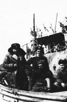 И.Ф. Демьянов. Остров Парамушир. 1958 г.