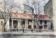 Бывш. дом Амбросио на Пантелеймоновской улице. Не сохранился