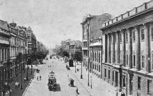 Одесса. Улица Ленина. Почтовая карточка. По штемпелю 1928 г.