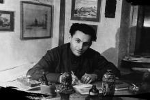 Борис Соломонович Канер. 1945 г.