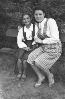 В парке им. Ильича. Одесса. 1951 г.