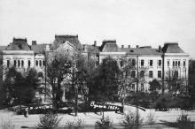 Одесса. Сельхозинститут на улице им. Свердлова. 1953 г.