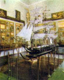 Одесса. В музее морского флота. Фотография в буклете «Odessa». 1975 г.