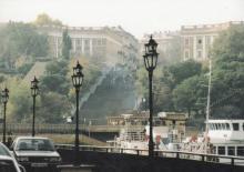 Потемкинская лестница. Фотография в брошюре «Гостиницы Одессы». 2005 г.
